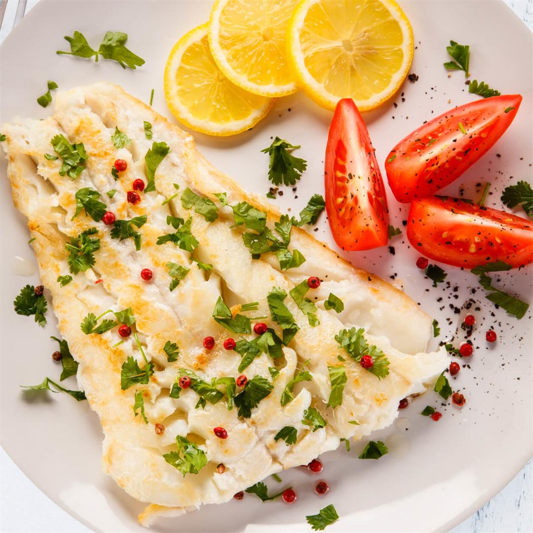 Baked Cod Recipe (One Dish and 15 Minutes)