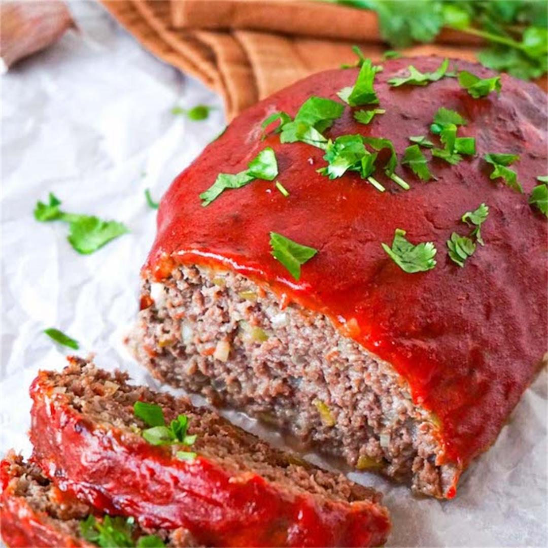Low carb keto meatloaf recipe