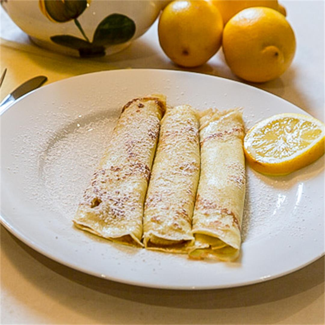EASY OLIVE OIL CREPES ~ Comfort & Peasant
