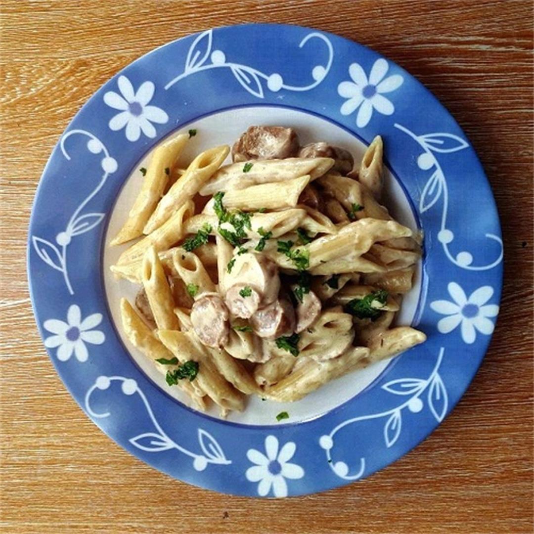 Penne Carbonara Recipe