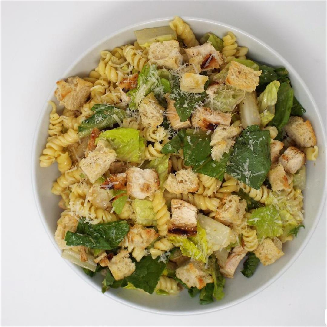 Chicken Caeser Pasta Salad