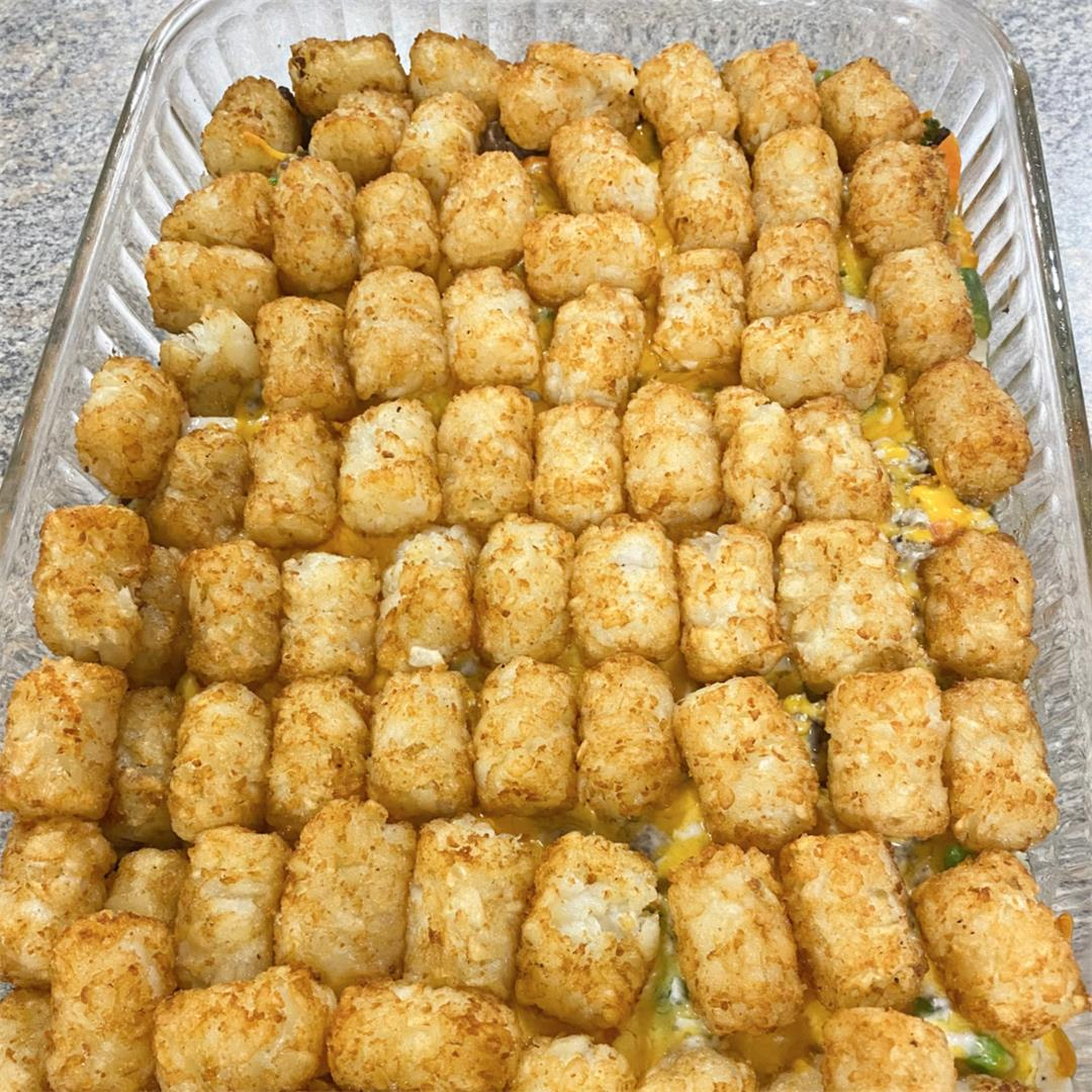 5-Ingredient Tater Tot Casserole