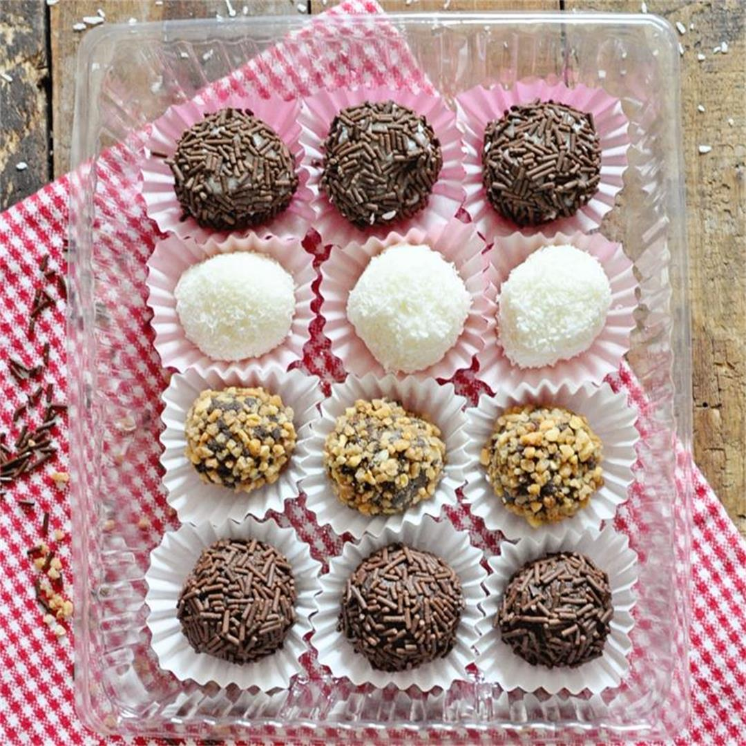 Easy NO-BAKE Truffles Recipe