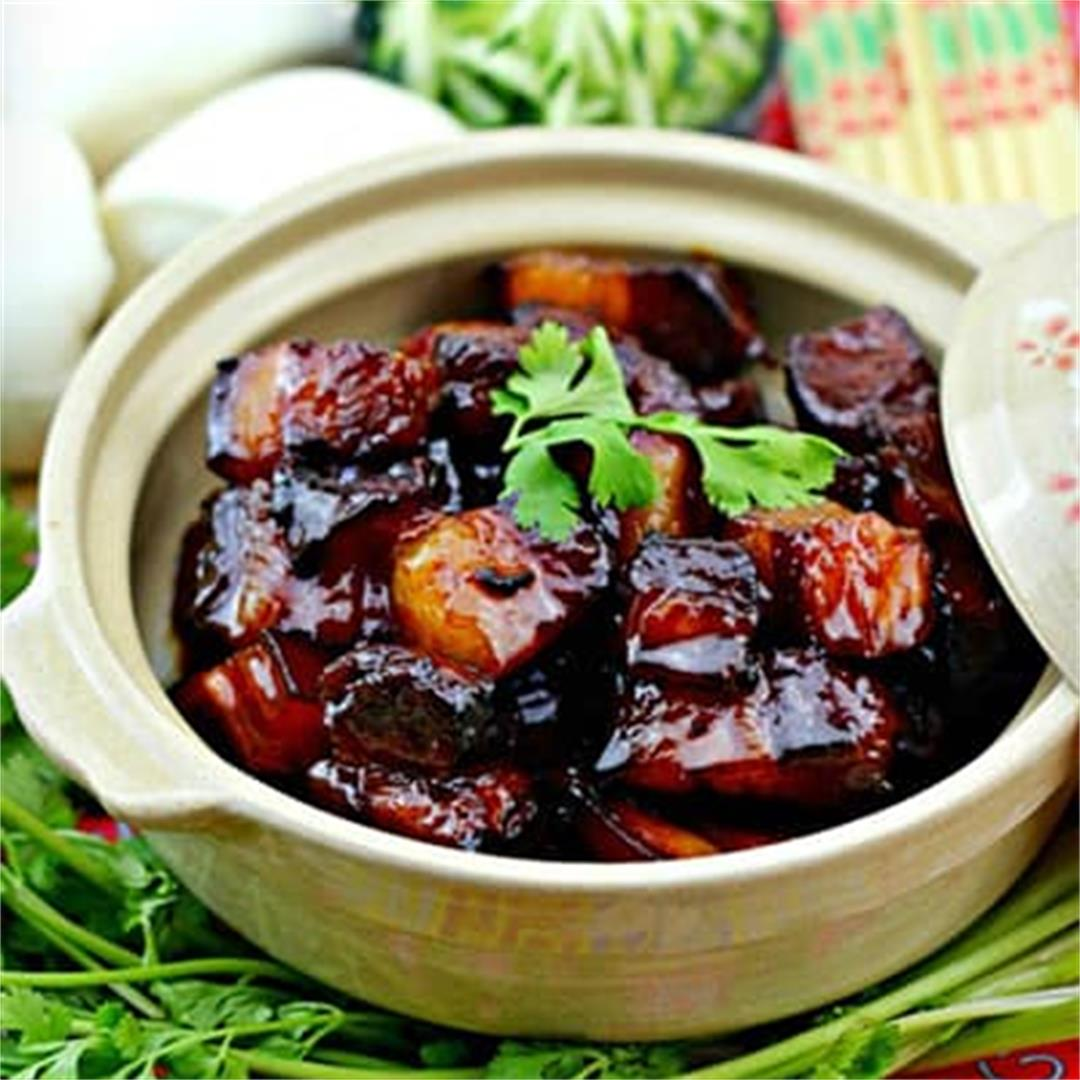 Hong Shao Rou (Braised Pork Belly)