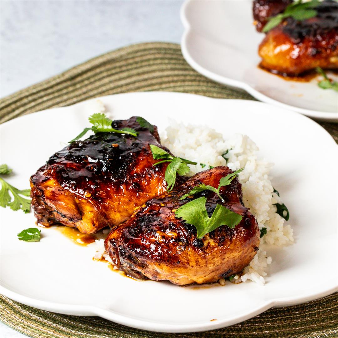 Sticky Thai Chicken