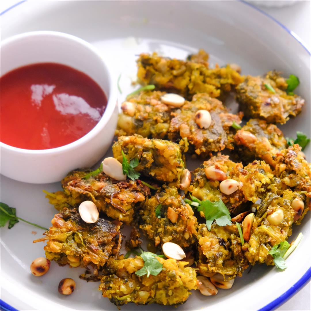 Crispy Kothambir Vadi