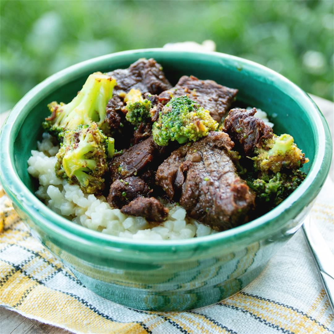 Paleo Beef and Broccoli (gluten-free)