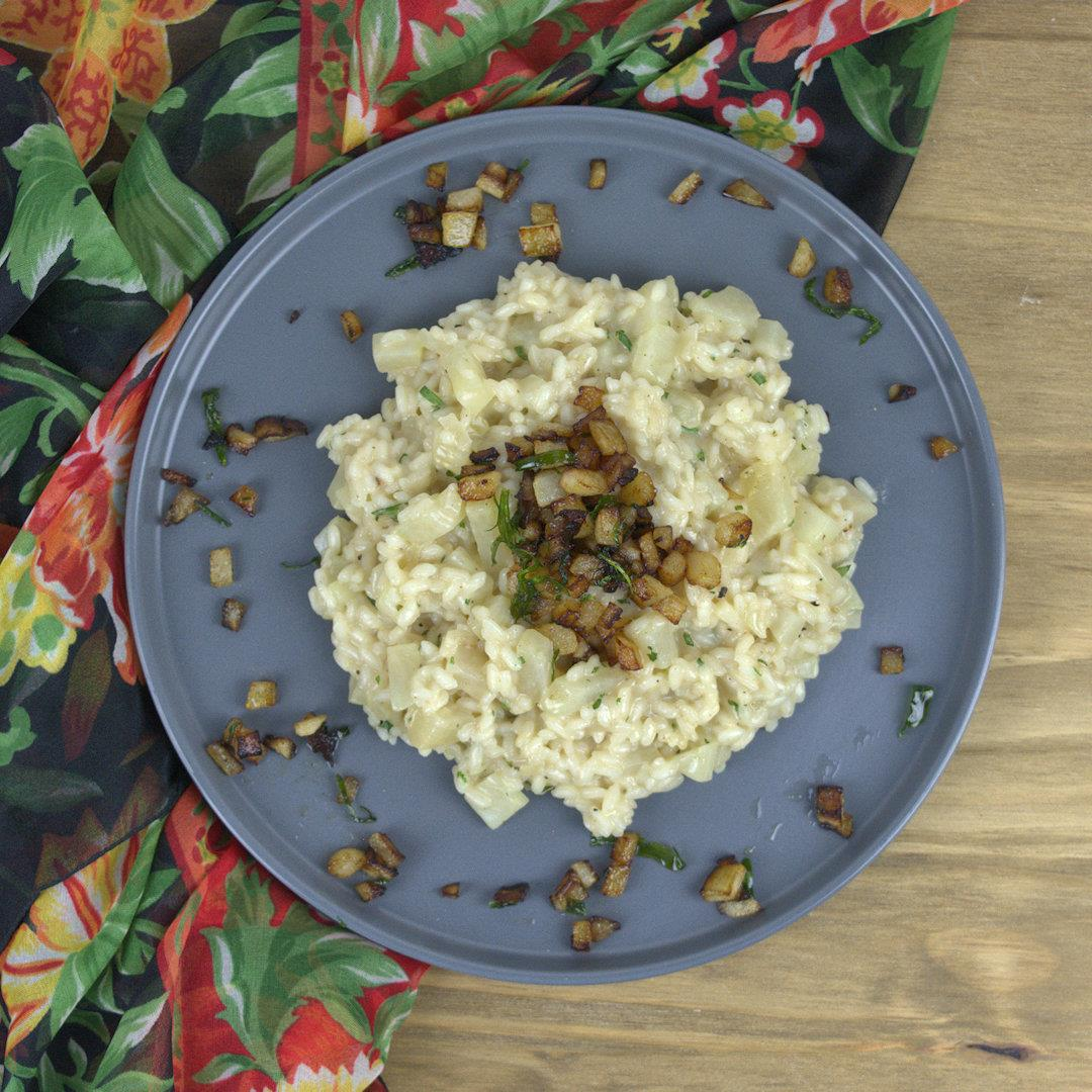 Pear and Wine Risotto – A Gourmet Food Blog