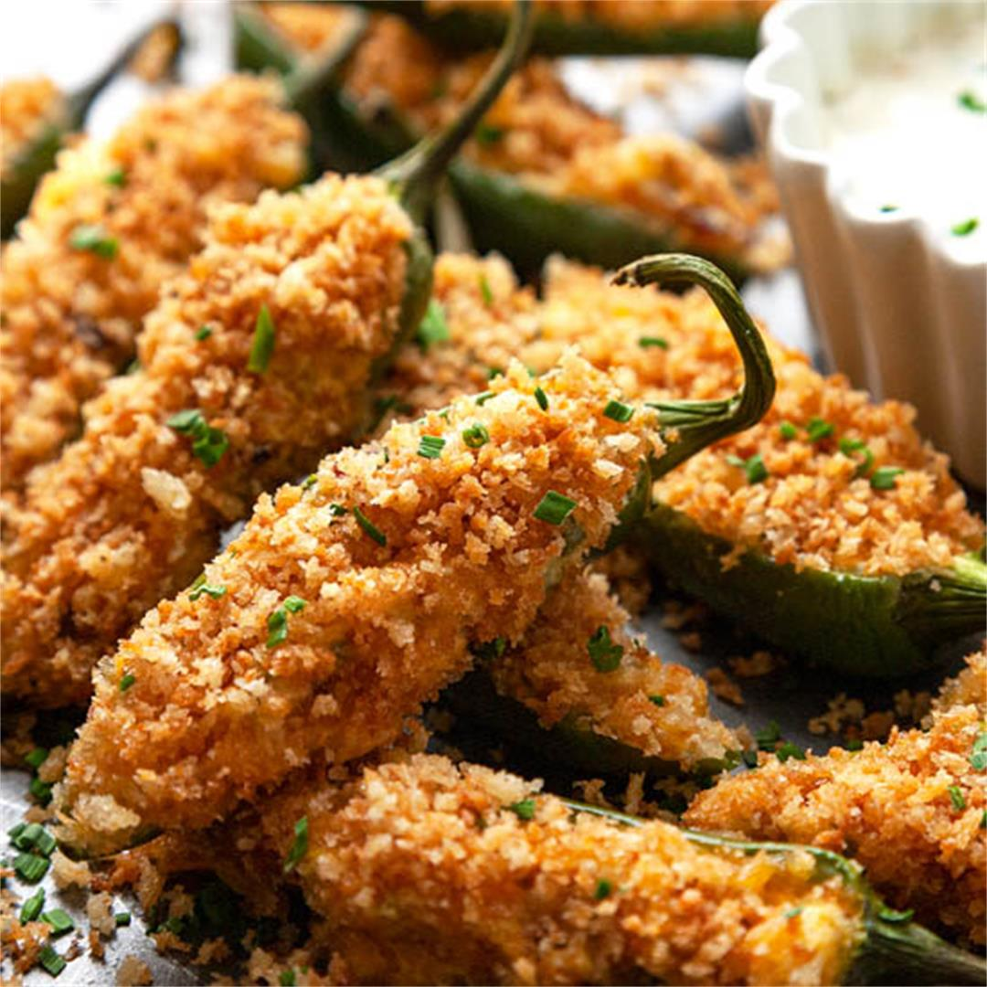 The BEST Easy, Baked, Bacon Jalapeno Poppers Recipe (Video)