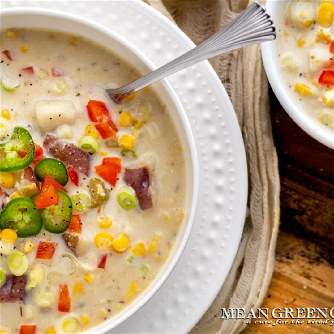 Sweet Corn Chowder Recipe