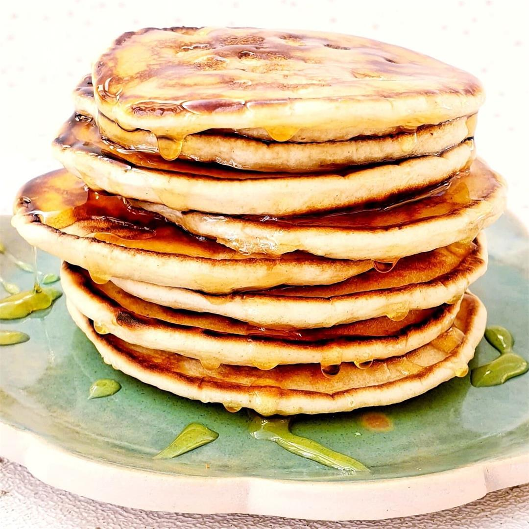 Scotch Pancakes (aka Drop Scones)