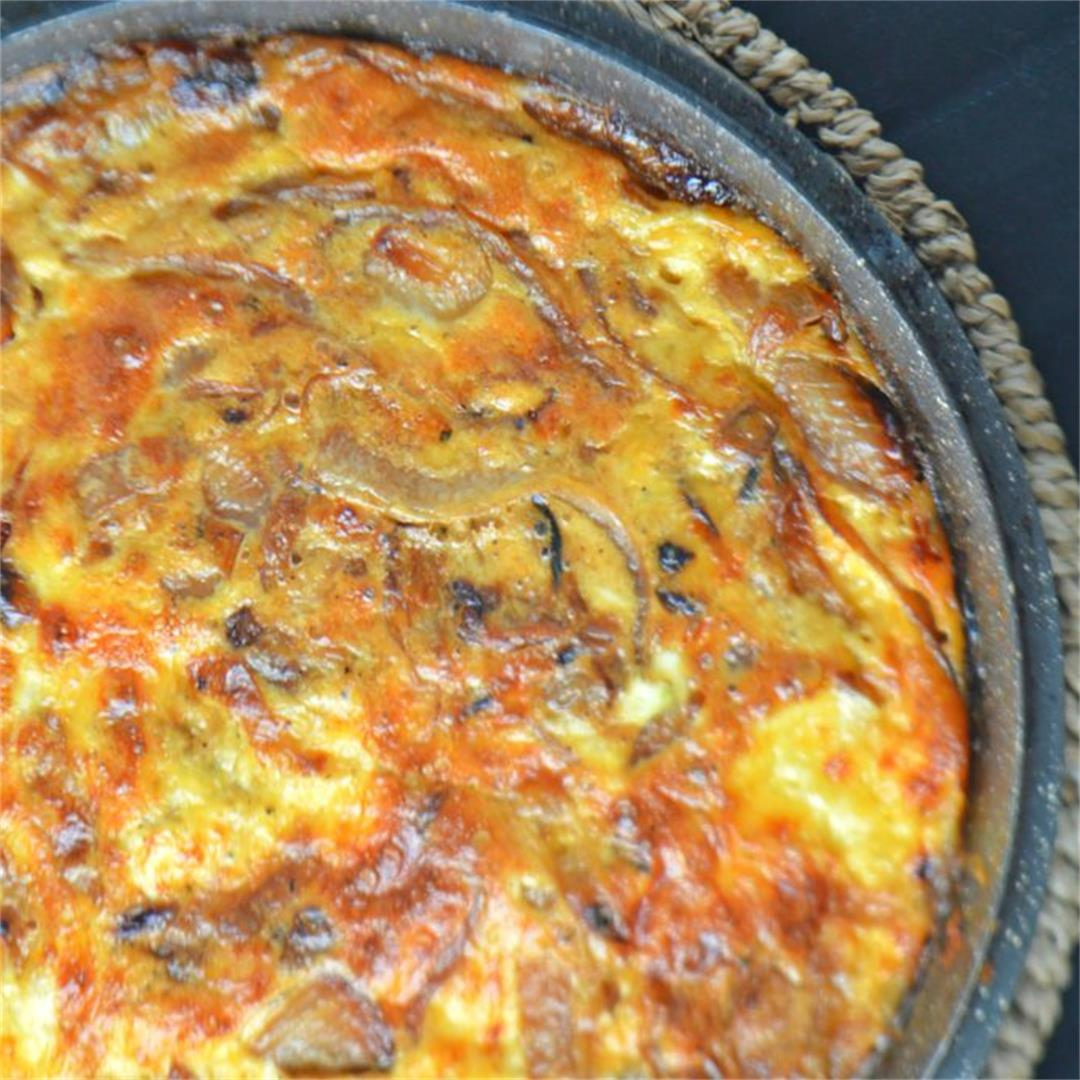 Gouda Cheese & Onion Gratin — Tasty Food for Busy Mums