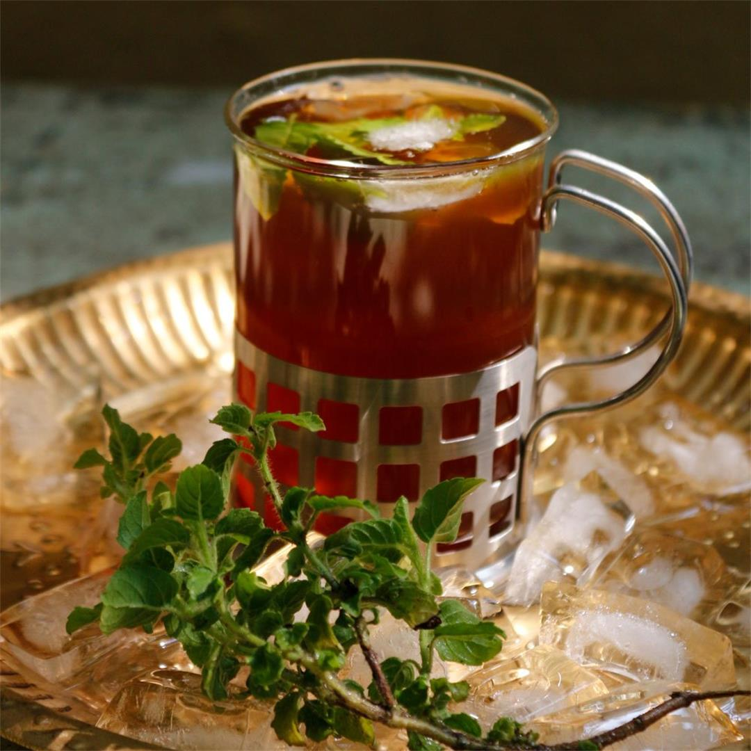 Tulasi Iced Tea