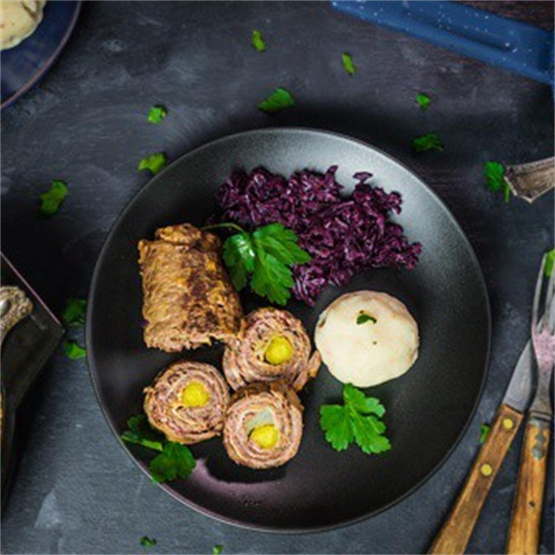 German Beef Rouladen (Instant Pot & Stovetop)