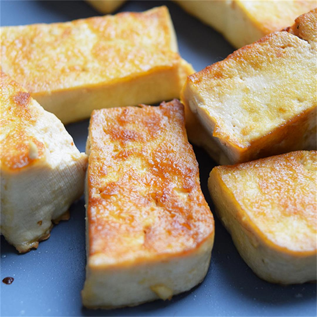 A&D Kitchen Crispy Pan-Fried Tofu