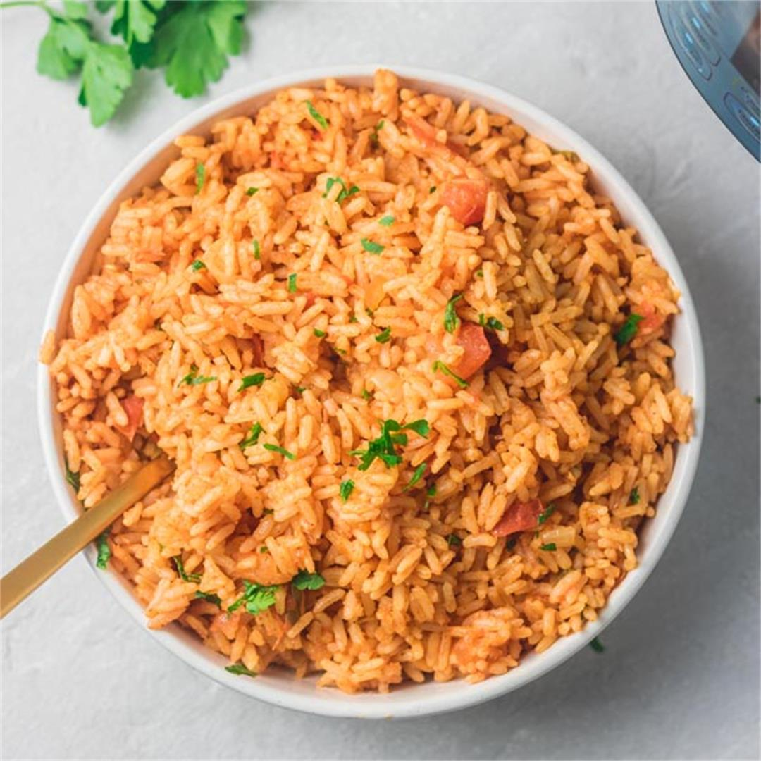 Instant Pot Mexican Rice (Arroz Rojo)