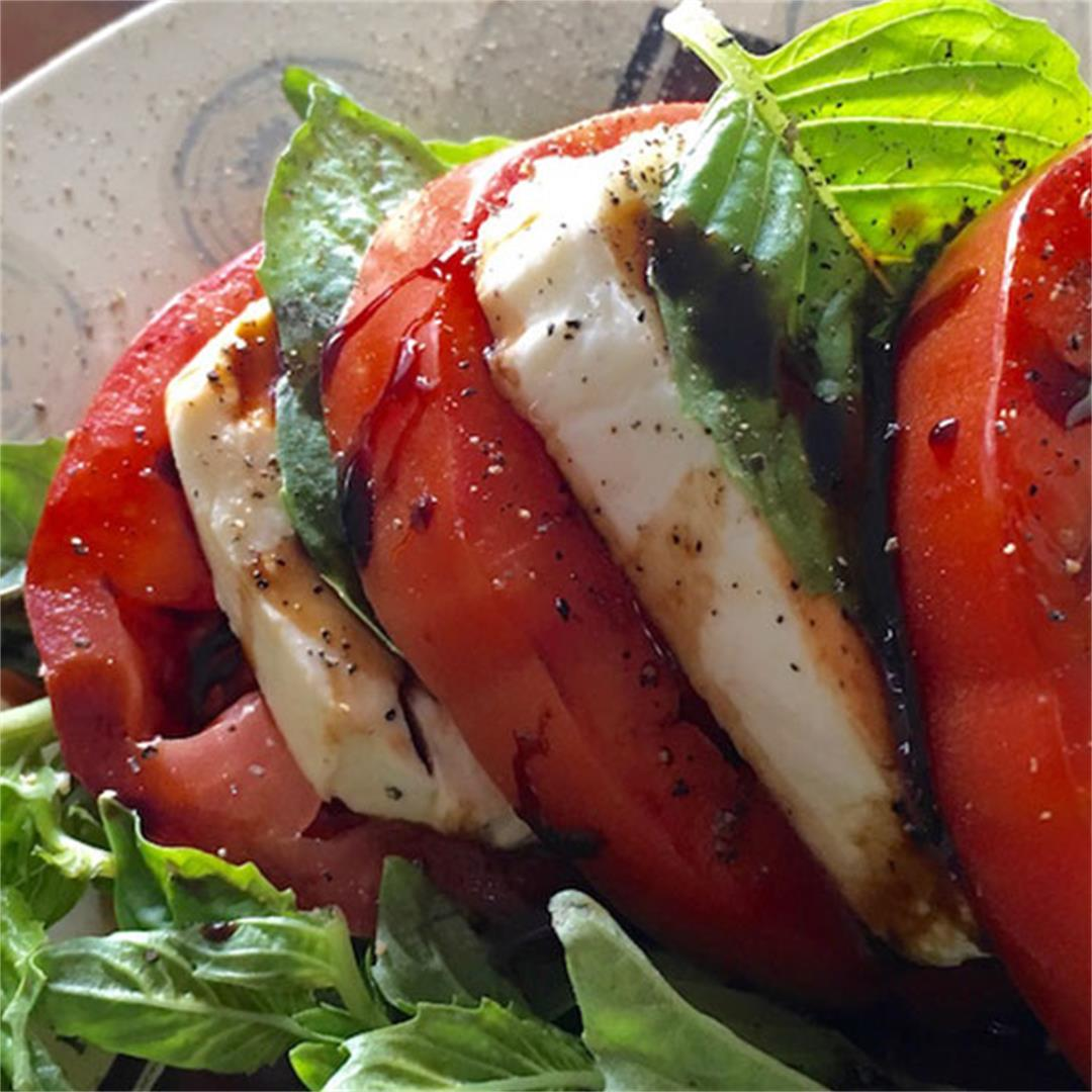 Caprese Salad With Balsamic