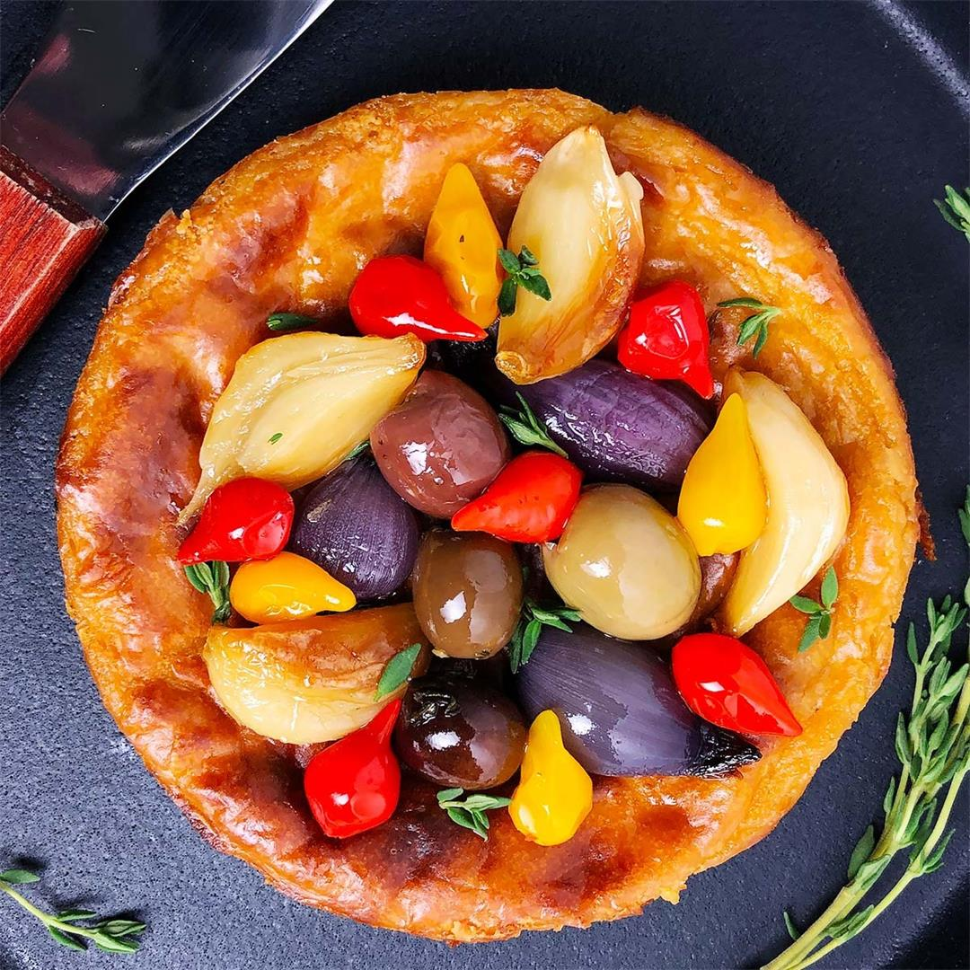 Savoury Vegan Cheesecake