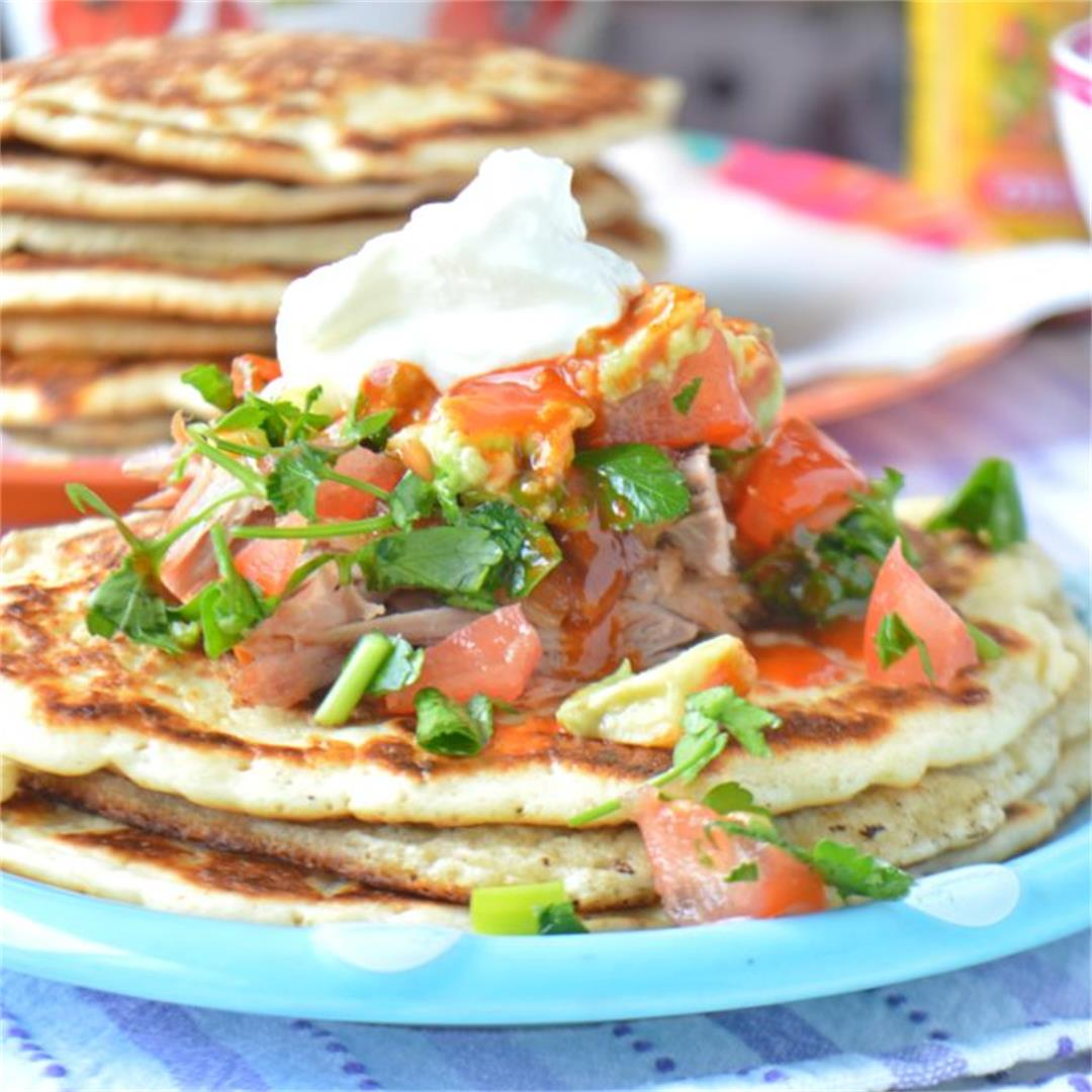 Mexican Style Carnitas Pancakes — Tasty Food for Busy Mums