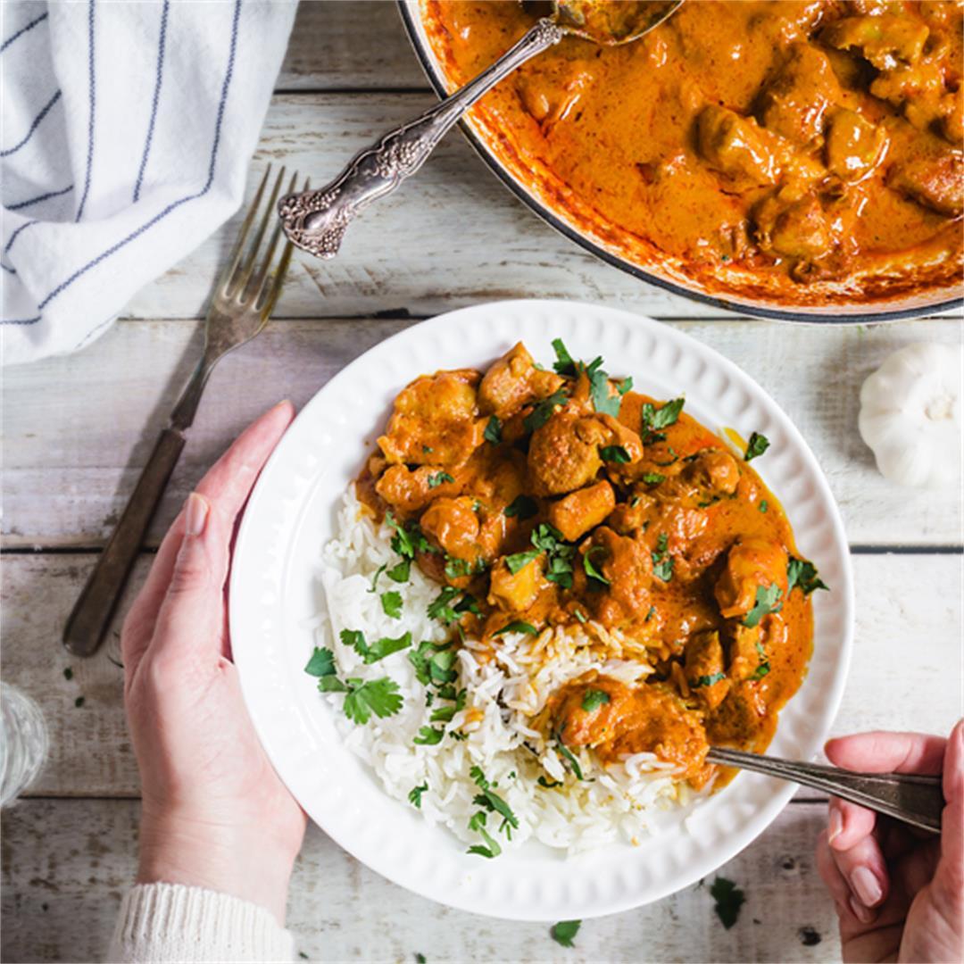 One-Pan Chicken Tikka Masala Indian Recipe [VIDEO]