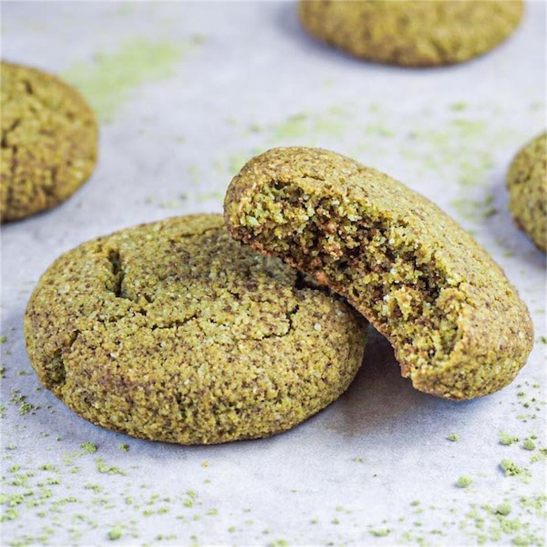 Matcha cookies recipe