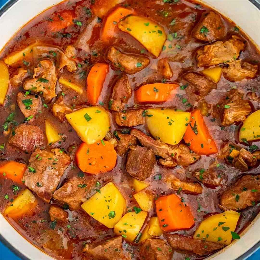 Tender and Juicy Guinness Beef Stew
