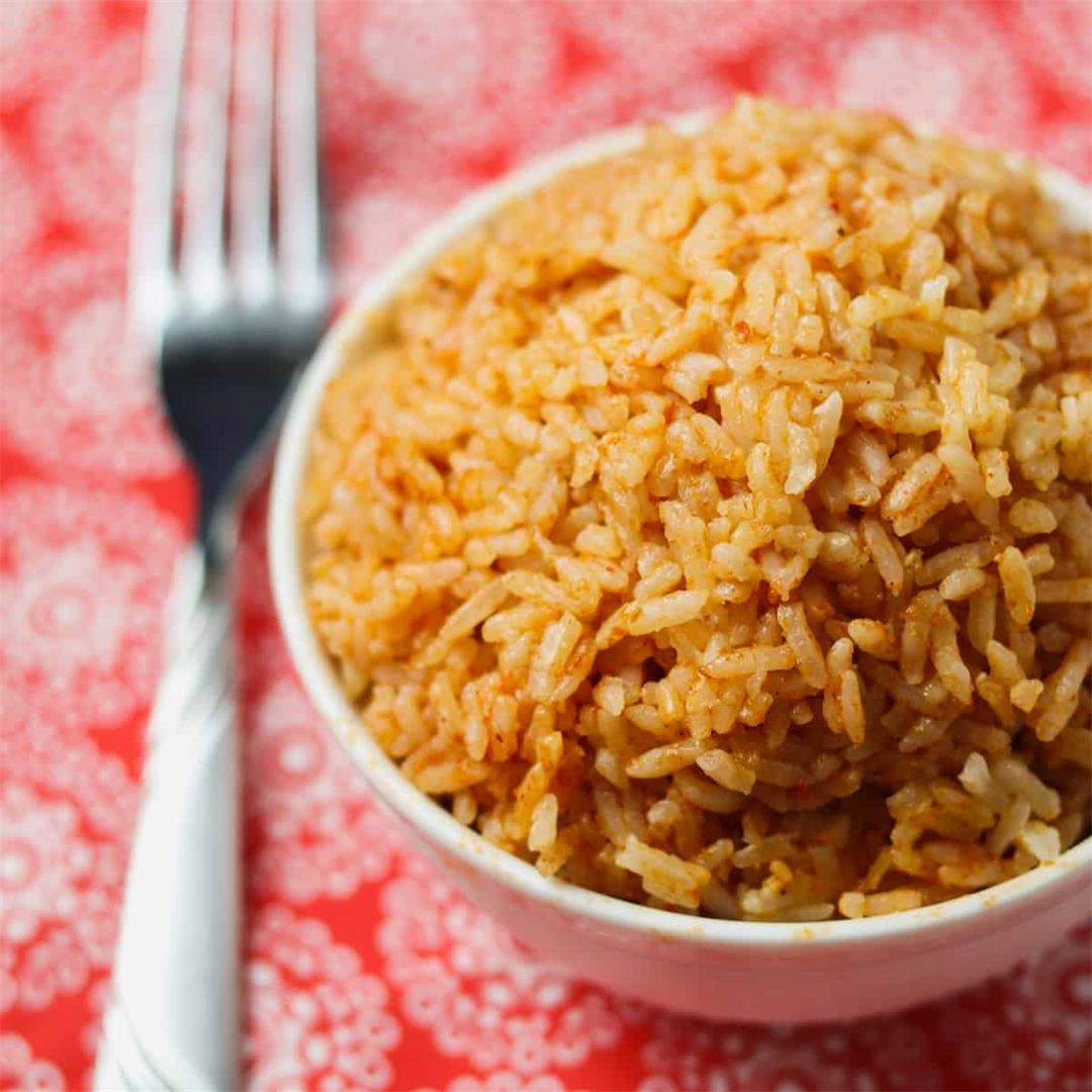 Instant Pot Easy Mexican Rice