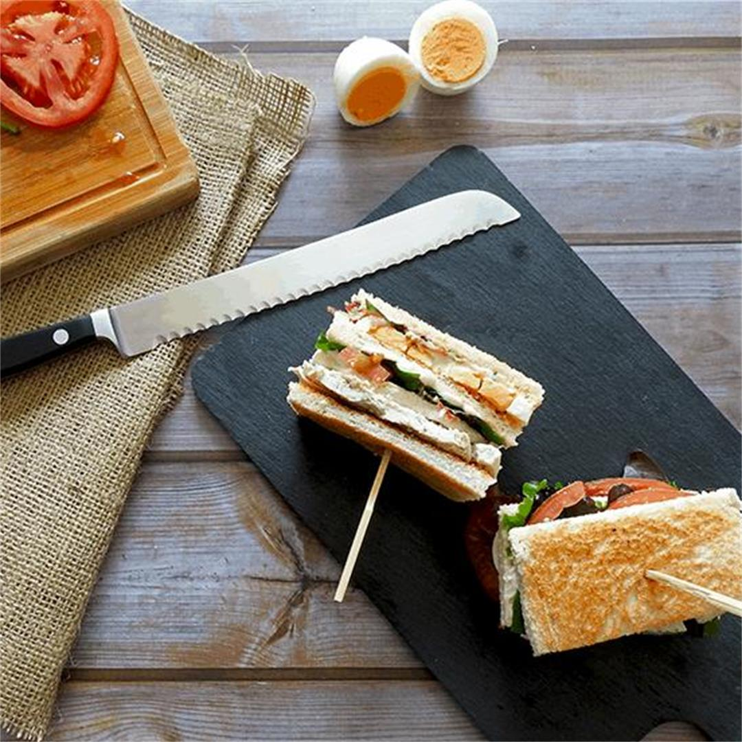 The Best Chicken Club Sandwich Recipe