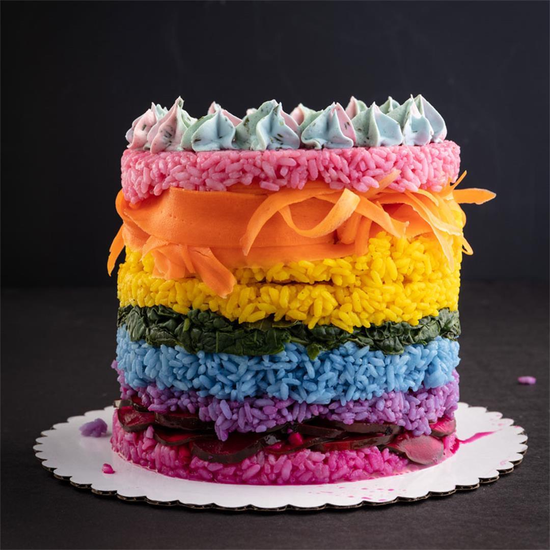 Vegan Sushi Cake