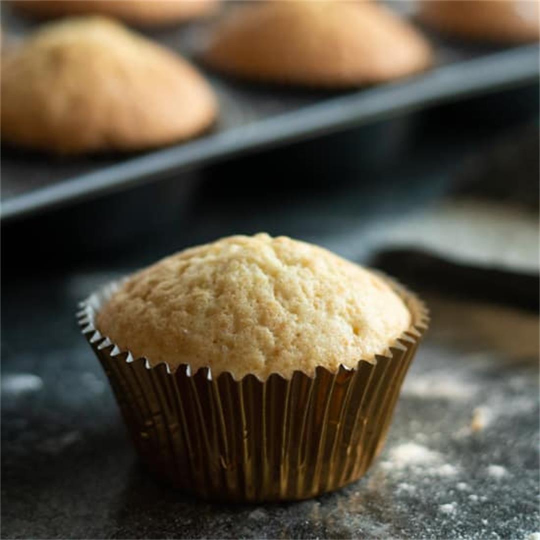 Easy Vanilla Muffins