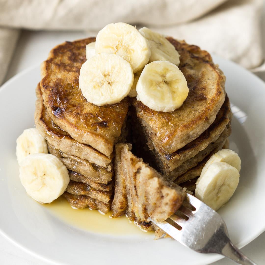 Banana Pancakes (Vegan, GF)