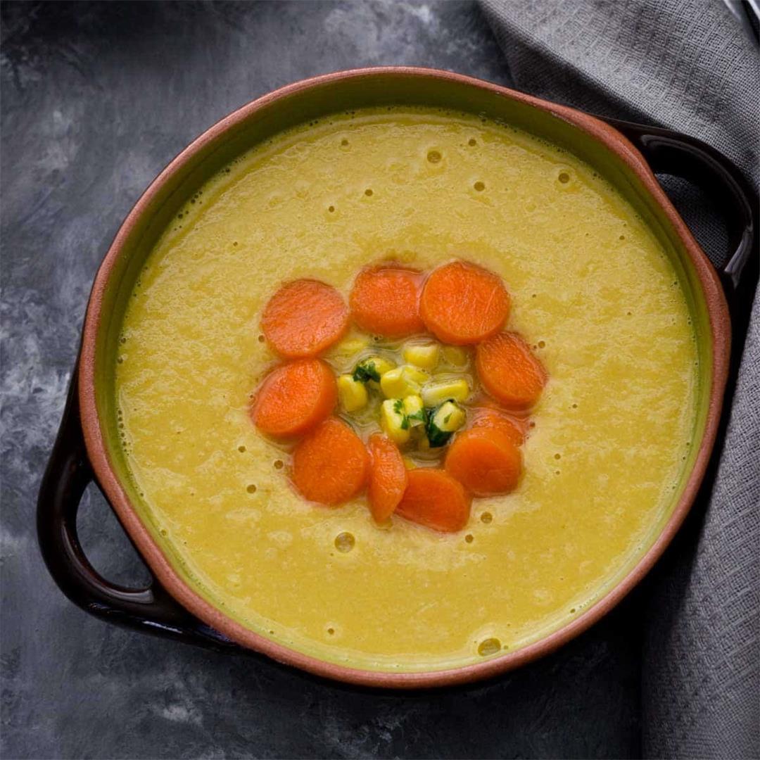 Indo-Chinese Corn Soup Recipe