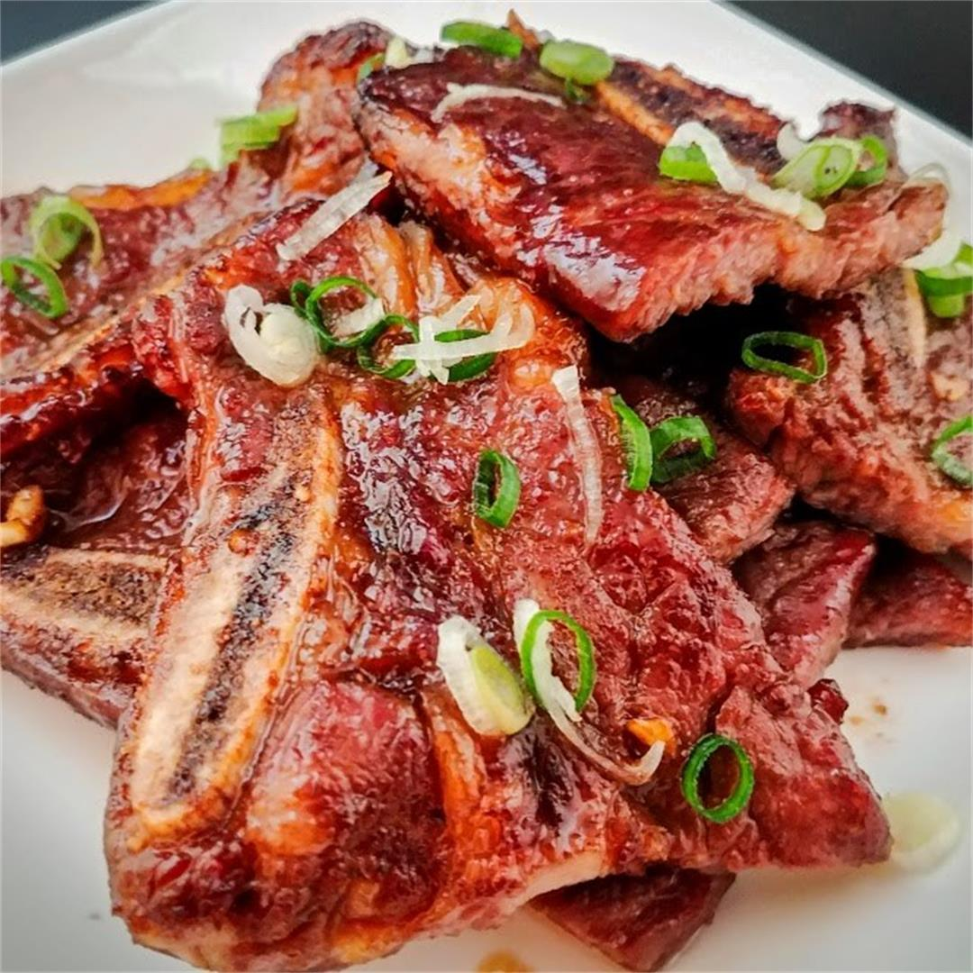 Asian Flavored Ribs (Air Fryer Beef Recipe)