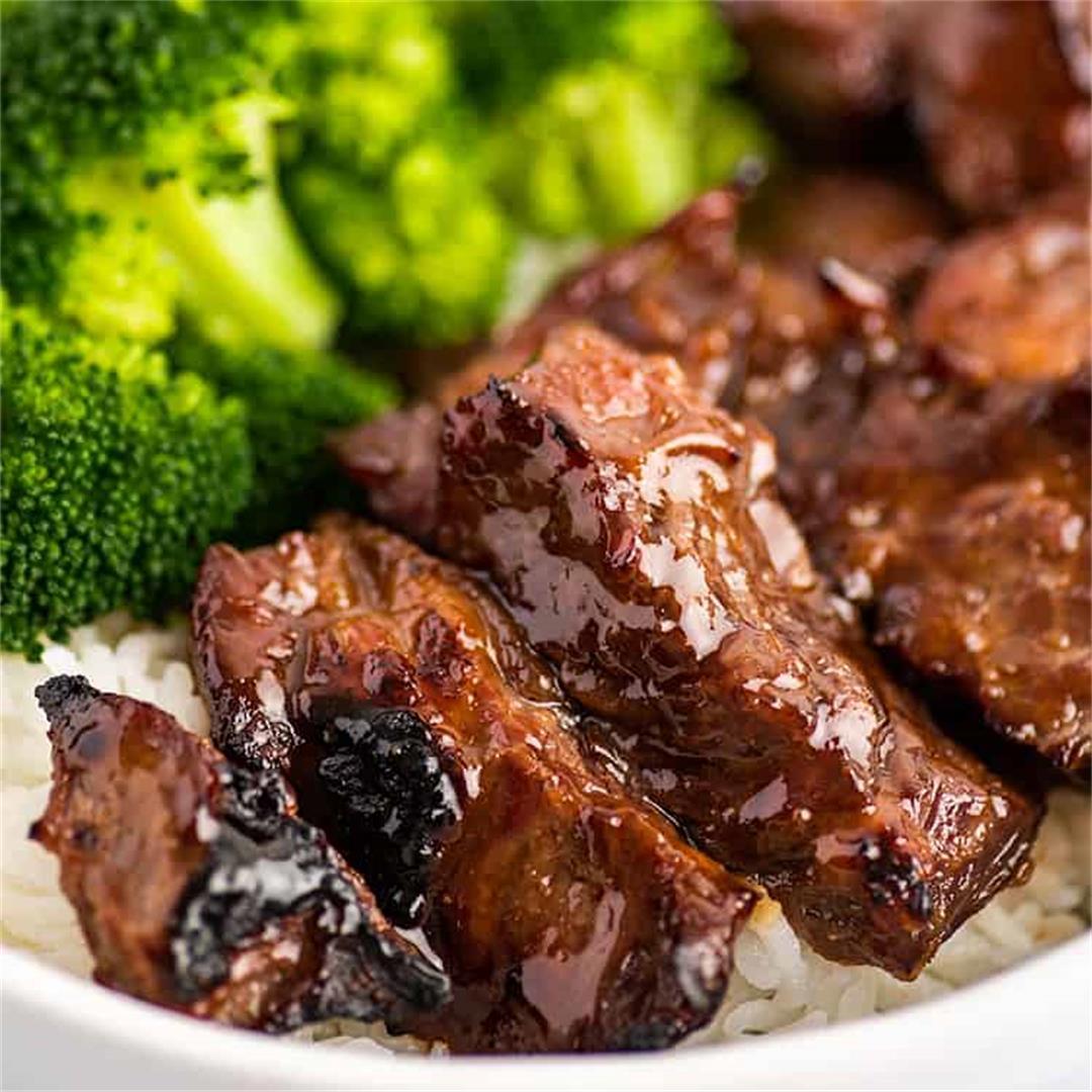 Quick Beef Teriyaki