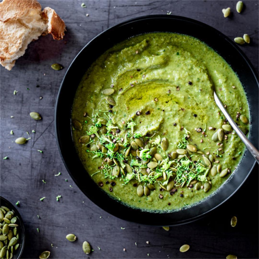 Broccoli Pea Soup