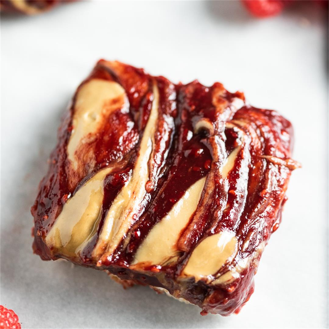 SunButter and Jelly Bars (Nut Free, Gluten Free)