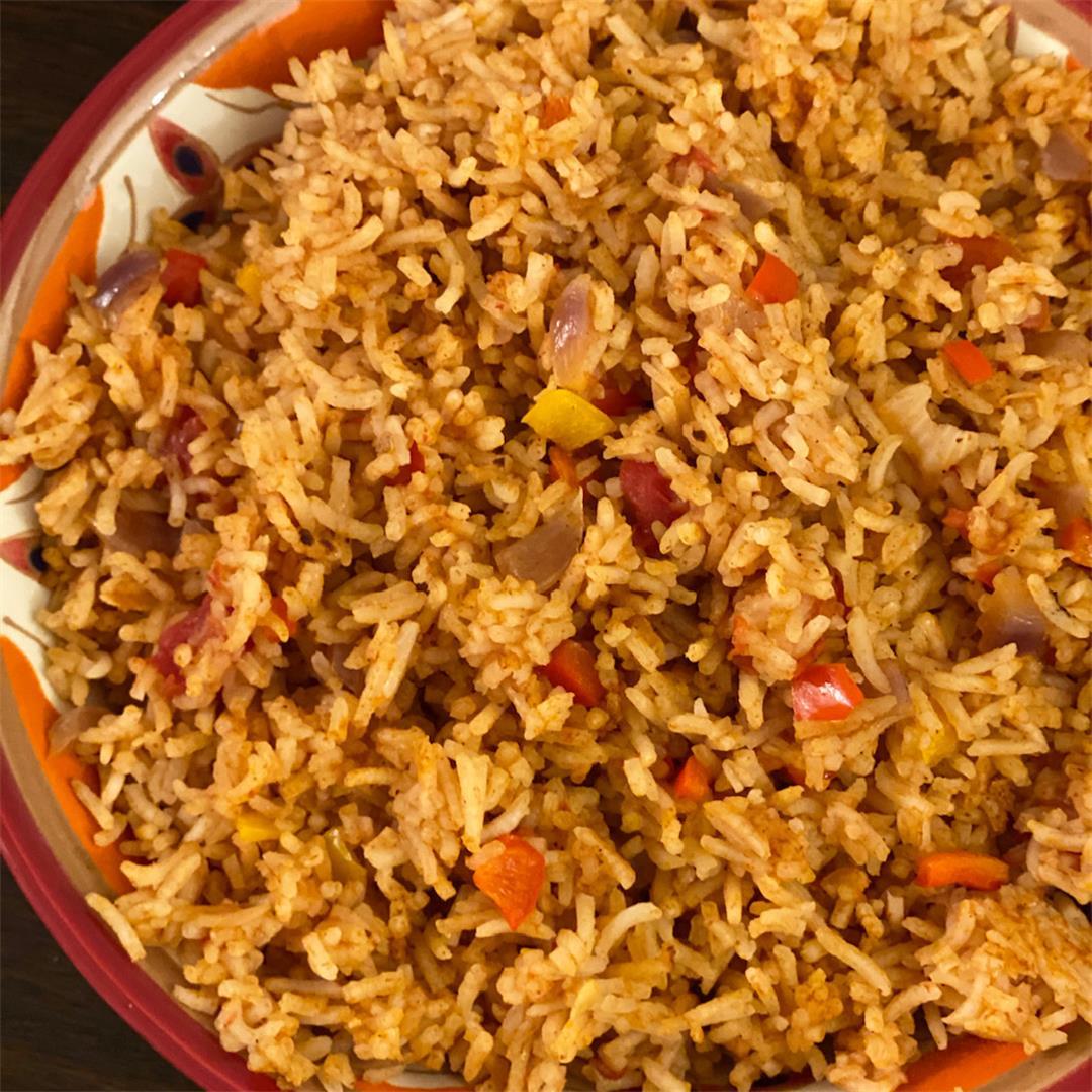 Mexican Rice (Arroz Rojo)