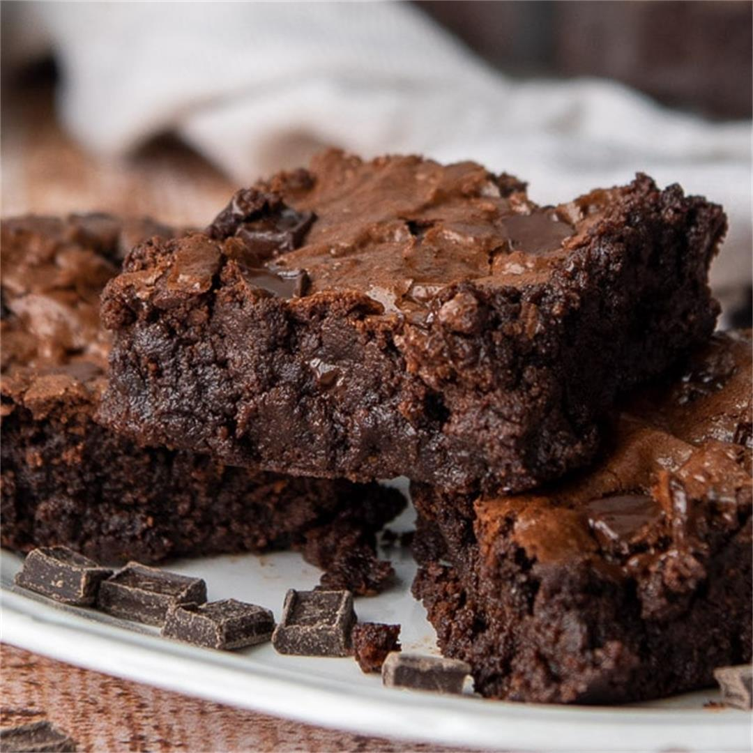 Fudgy Almond Flour Brownies
