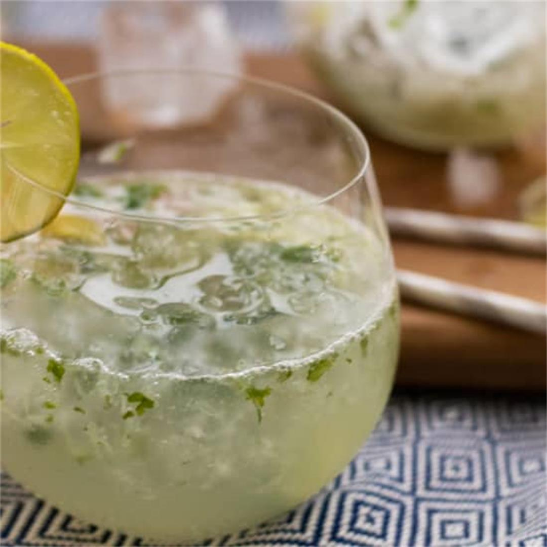 Healthy Mojito Mocktail [Sugar free, Gluten free, Vegan]