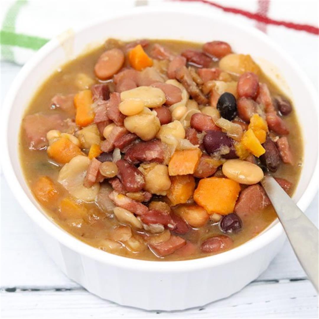 Instant Pot 15 Bean and Ham Soup
