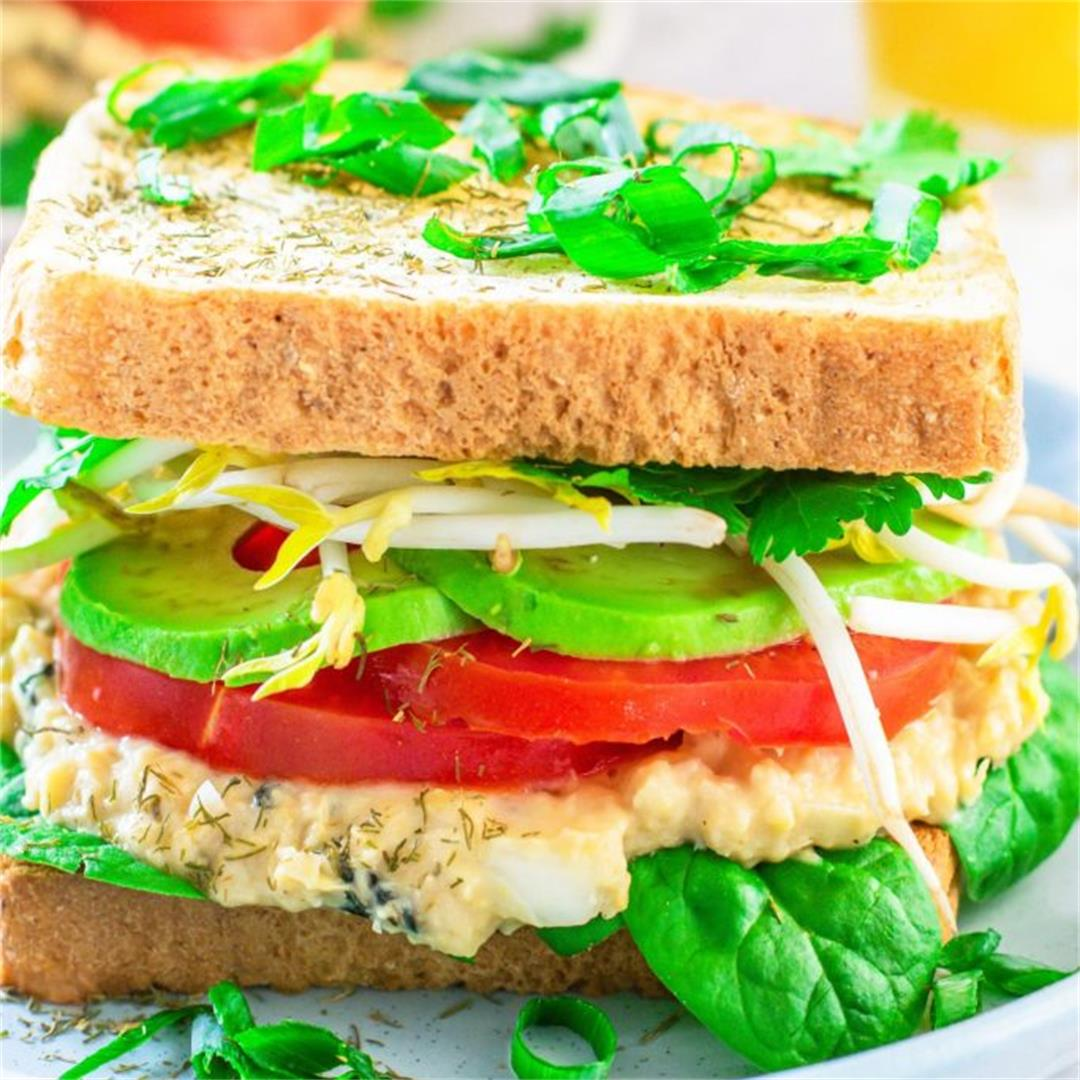 Vegan 'Tuna' Chickpeas Salad