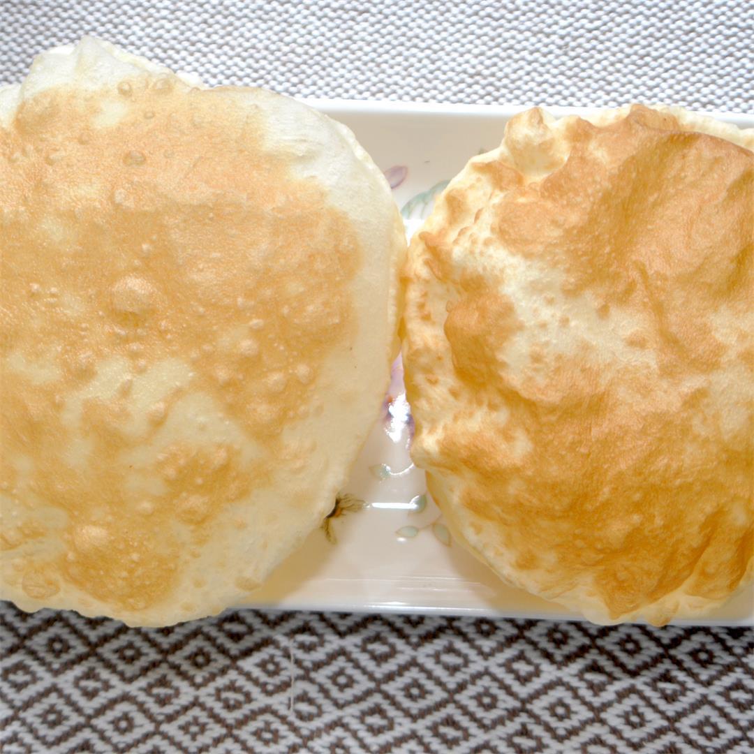 Bhatura (Bhature) Recipe without Yeast
