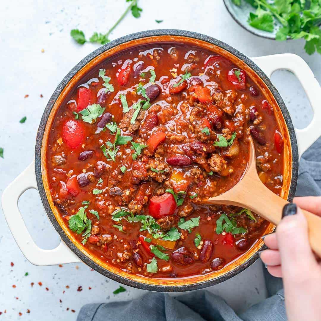 Homemade Beef Chili