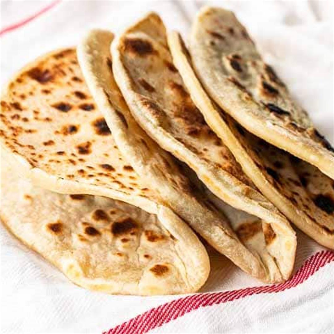 Greek gyro bread