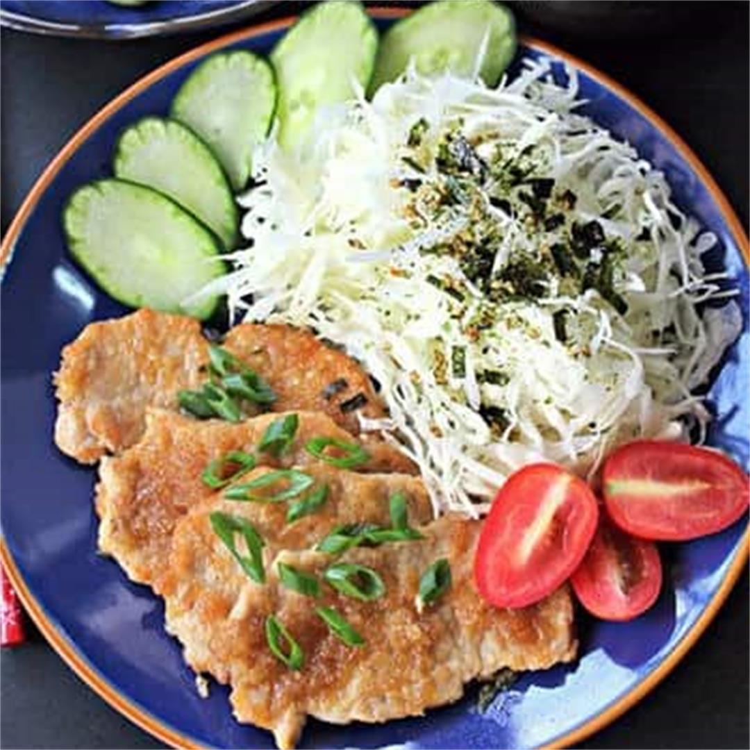 Pork Shogayaki and Donburi