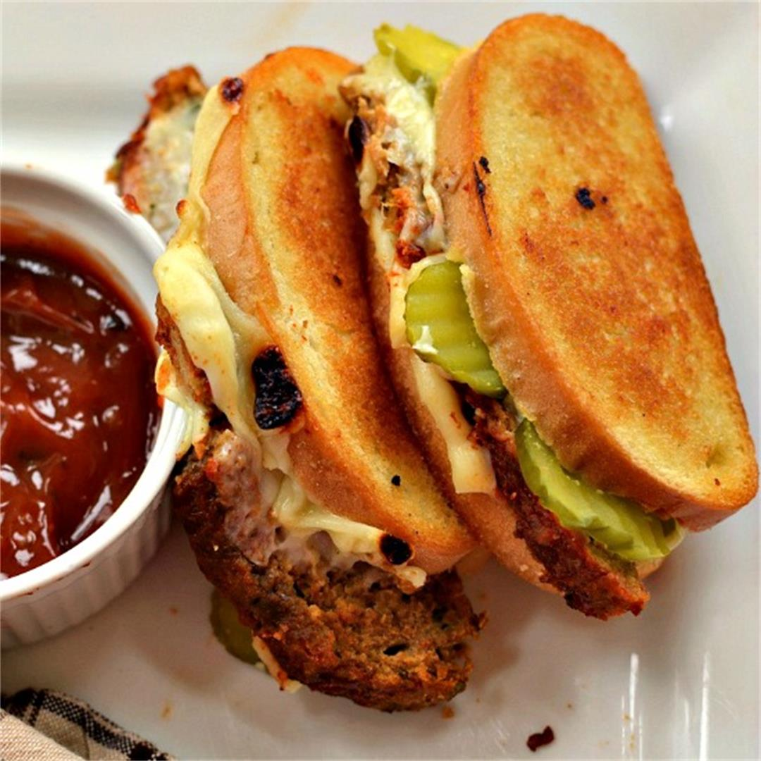 Grilled Meatloaf Sandwich