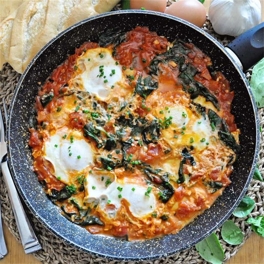 The ULTIMATE 10-MINUTE Breakfast SKILLET