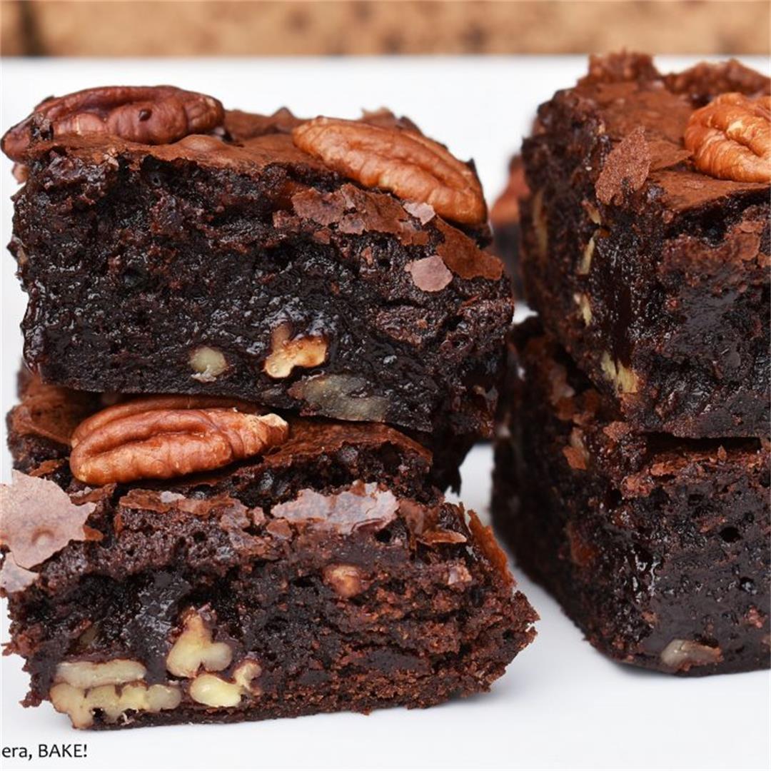 Maple Pecan Brownies