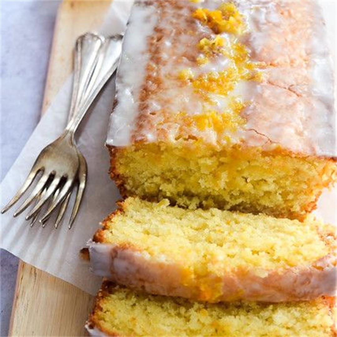 Spring Citrus Loaf Cake