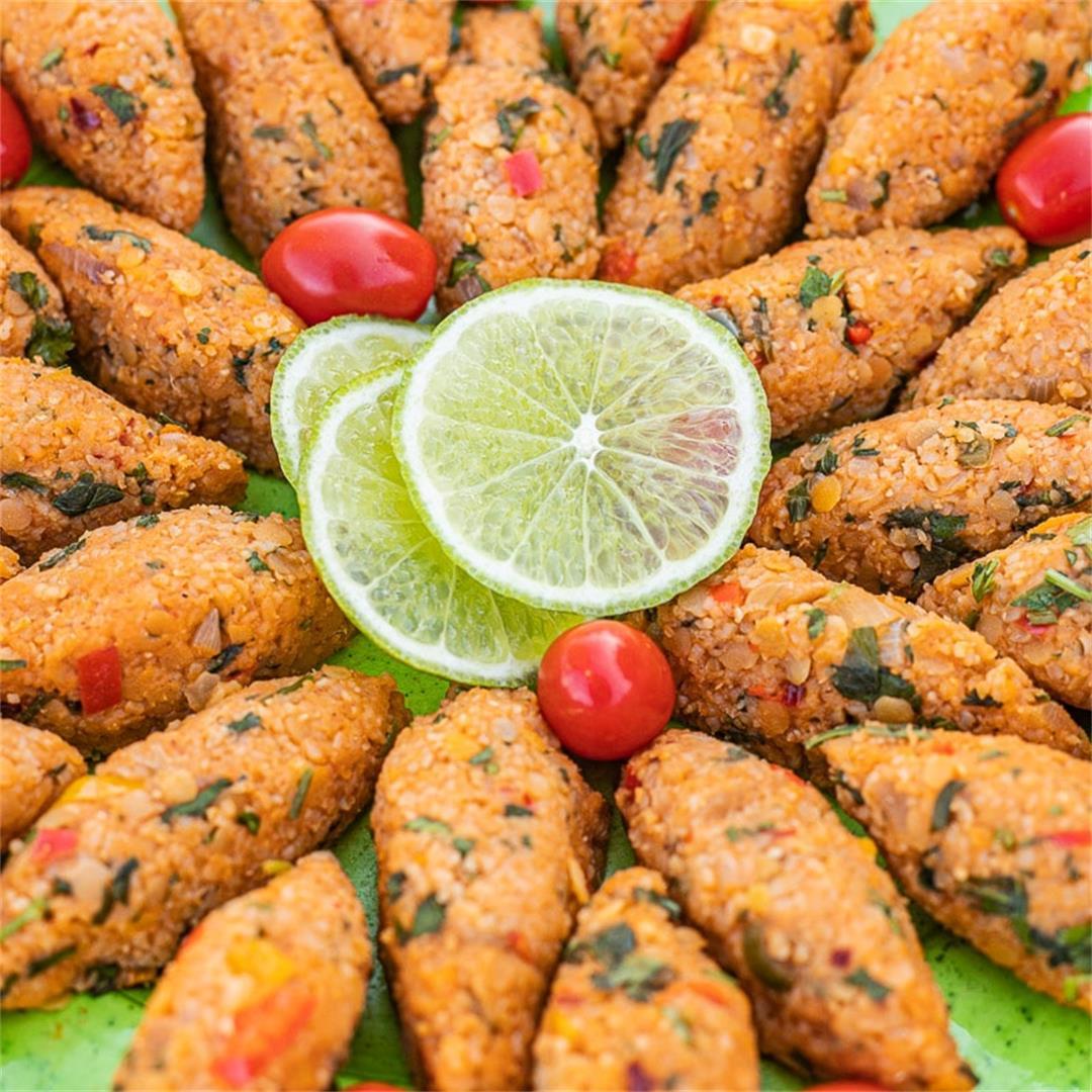Red Lentil Recipes (including Lentil Kibbeh)
